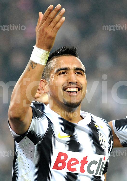 FUSSBALL INTERNATIONAL   SERIE A   SAISON 2011/2012    Juventus Turin - AC Cesena 04.12.2011 JUBEL Arturo Erasmo Pardo Vidal (Juventus Turin)