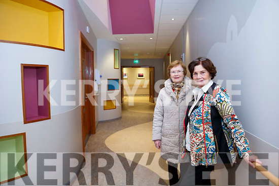At the Kerry Hospice Foundation and HSE open day people to view the New In Patient Unit on Friday were Mary Brosnan and Mary Shanahan