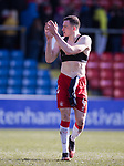 08.03.2020: Ross County v Rangers: George Edmundson with Billy Mckay's shirt
