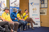 Welcome home / Press Conference / Christian Geiger<br /> PyeongChang 2018 Paralympic Games<br /> Australian Paralympic Committee<br /> Sydney International Airport<br /> PyeongChang South Korea<br /> Tuesday March 20th 2018<br /> &copy; Sport the library / Jeff Crow