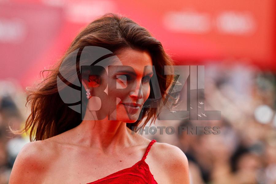 VENEZA, ITALIA, 31 DE AGOSTO 2011 - 68 FESTIVAL DE CINEMA EM VENEZA - A atriz Cindy Crawford durante o Red Carpet no 68 Festival Internacional de Cinema em Veneza na Italia. FOTO: VANESSA CARVALHO - NEWS FREE.