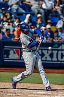 Matt Kemp.<br /> <br /> Acciones del partido de beisbol, Dodgers de Los Angeles contra Padres de San Diego, tercer juego de la Serie en Mexico de las Ligas Mayores del Beisbol, realizado en el estadio de los Sultanes de Monterrey, Mexico el domingo 6 de Mayo 2018.<br /> (Photo: Luis Gutierrez)