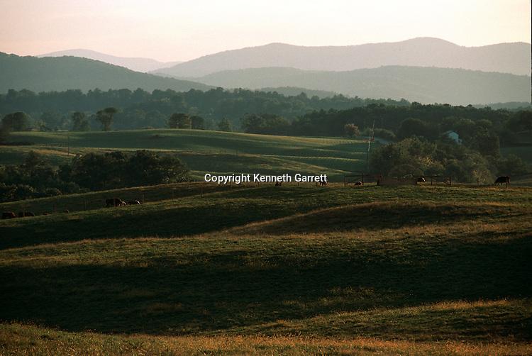 Virginia; Fauquier County; Hallowed Ground; The Plains; Blue Ridge Mountains