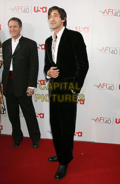 ADRIEN BRODY.35th AFI Life Achievement Award Honoring Al Pacino held at the Kodak Theatre, Hollywood, California, USA..June 7th, 2007.full length black suit .CAP/ADM/RE.©Russ Elliot/AdMedia/Capital Pictures