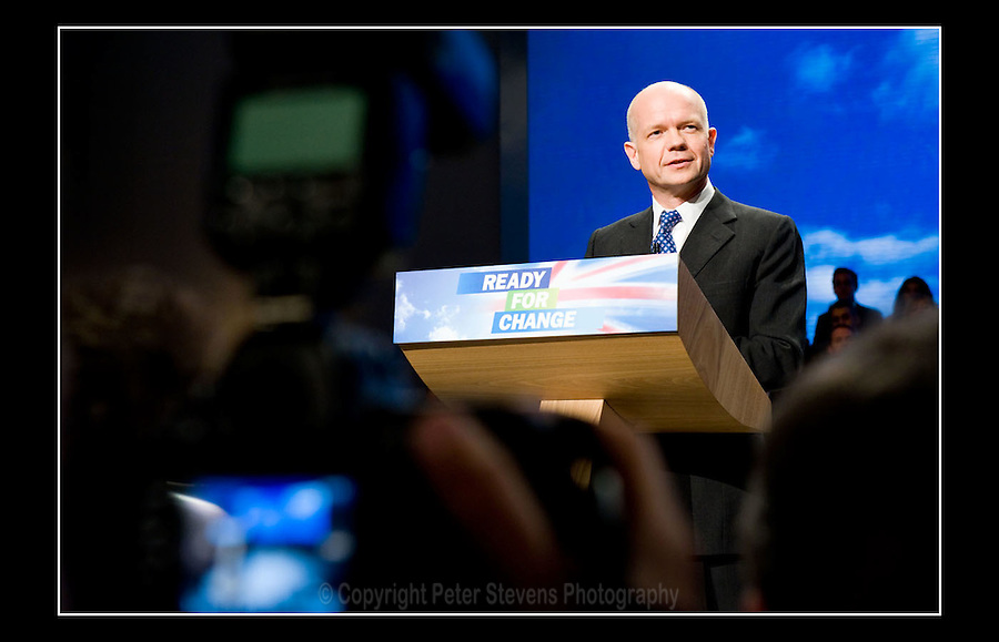William Hague MP - Conservative Party Conference - Manchester Central - 8th October 2009