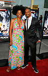 "HOLLYWOOD, CA. - May 20: Kim Wayans and Damon Wayans, Jr. arrive at the Los Angeles Premiere of ""Dance Flick"" at the ArcLight Theatre on May 20, 2009 in Hollywood, California."