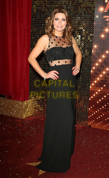 MANCHESTER, ENGLAND - MAY 16: Alison King attends the British Soap Awards 2015, The Palace Hotel, Oxford Street, on Saturday May 16, 2015 in Manchester, England, UK. <br /> CAP/ROS<br /> &copy;Steve Ross/Capital Pictures