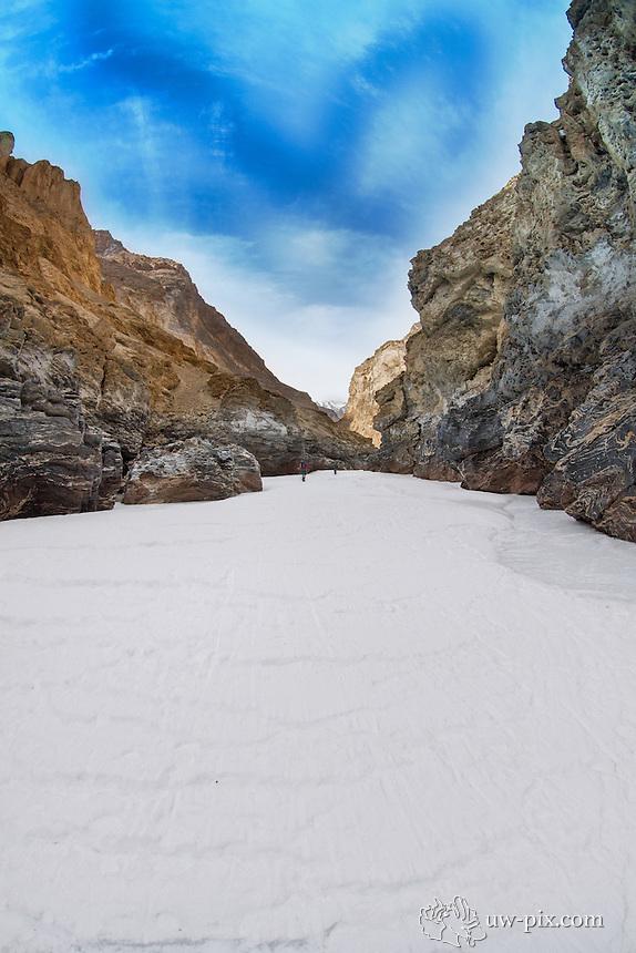 Trek on the frozen Zanskar river Leh India Chadar