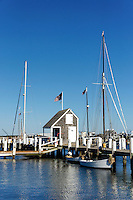 Sailboats, Vineyard Haven, Martha's Vineyard, Massachusetts, USA