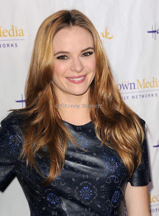 Danielle Panabaker arriving to the Hallmark Chanel and Hallmark Movie Chanel Winter TCA Gala, held at The Huntington Beach Library and Gardens in Santa Monica Mario, CA. January 4, 2013