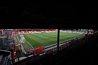 4th January 2020; Griffin Park, London, England; English FA Cup Football, Brentford FC versus Stoke City; General view of the inside of Griffin Park - Strictly Editorial Use Only. No use with unauthorized audio, video, data, fixture lists, club/league logos or 'live' services. Online in-match use limited to 120 images, no video emulation. No use in betting, games or single club/league/player publications
