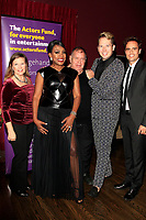 LOS ANGELES - OCT 6: Dianne Fraser, Sheryl Lee Ralph, David Galligan, Shawn Ryan, David Burnham at the Right This Way, Your Table's Waiting cabaret performance - to benefit The Actors Fund held at  The Catalina Jazz Club on October 8, 2017 in Los Angeles, CA