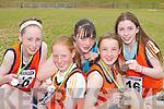 Castleisland u14 girls relay team that won bronze at the Community Games County finals in An Riocht Castleisland last Sunday were L-r: Blathnaid OCallaghan, Niamh OConnell, Elaine Connor, Aine OConnor and Eilis Lynch.