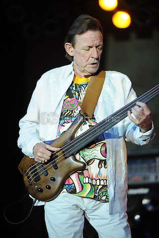 POMPANO BEACH, FL - AUGUST 10:  Jack Bruce, bassist from 1960s band Cream, has died aged 71, his publicist confirms. <br /> Jack Bruce performs during Hippiefest at Pompano Beach Amphitheater August 10, 2008 in Pompano Beach FL. Credit: mpi04/MediaPunch