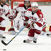 Pier-Olivier Michaud (Harvard - 39) - The St. Lawrence University Saints defeated the Harvard University Crimson 3-2 on Friday, November 20, 2009, at the Bright Hockey Center in Cambridge, Massachusetts.