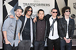 Linkin Park at The Premiere Of DreamWorks & Paramount's Transformers 2: Revenge Of The Fallen held at The Mann's Village Theatre in Westwood, California on June 22,2009                                                                     Copyright 2009 DVS / RockinExposures