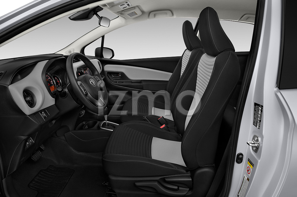 Front seat view of a 2018 Toyota Yaris L 3-Door Liftback 3 Door Hatchback front seat car photos