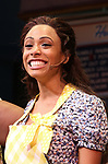 Nicolette Robinson makes her Broadway debut in 'Waitress' on September 4, 2081 at the Brooks Atkinson Theatre in New York City.