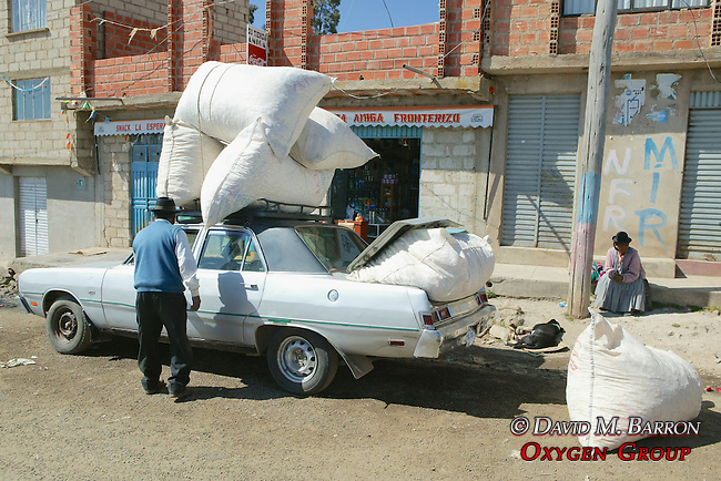 Car Filled With Sacks