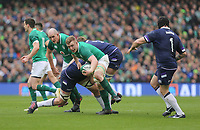Saturday 10th March 2018 |  Ireland vs Scotland<br /> <br /> Dan Leavy during the NatWest 6 Nations clash between Ireland and Scotland at the Aviva Stadium, Lansdowne Road, Dublin, Ireland. Photo by John Dickson / DICKSONDIGITAL