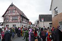 Viel los beim Rosensonntagsumzug der BCA am historischen Rathaus - Büttelborn 11.02.2018: Rosensonntagsumzug der BCA