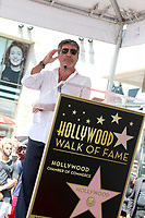 LOS ANGELES - AUG 22:  Simon Cowell at the Simon Cowell Star Ceremony on the Hollywood Walk of Fame on August 22, 2018 in Los Angeles, CA