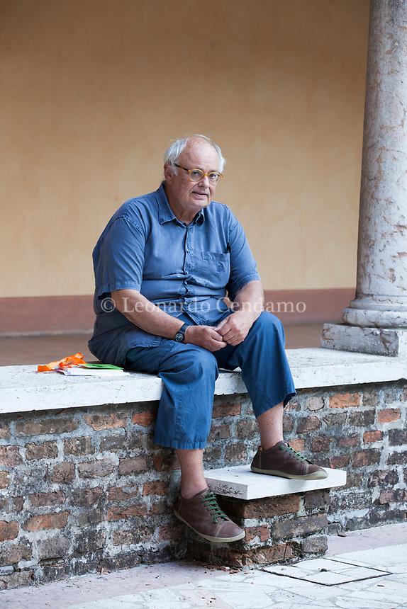 Pier Aldo Rovatti (Modena, 19 aprile 1942) è un docente e filosofo italiano, insegna Filosofia contemporanea all'Università di Trieste. Mantova, 8 settembre 2017, © Leonardo Cendamo