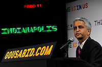 U.S. Soccer President and USA Bid Committee Chairman Sunil Gulati announces Indianapolis as one of the 18 cities to be submitted to FIFA as part of the bid to host the 2018 or 2022 FIFA World Cup at the ESPN Zone in Times Square, NYC, NY, on January 12, 2010.