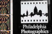 Amérique/Amérique du Nord/USA/Etats-Unis/Vallée du Delaware/Pennsylvanie/Philadelphie : Quartier de Chinatown, enseigne d'un laboratoire photographique