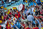 Spain's fans during the up match between Spain and Georgia before the Uefa Euro 2016.  Jun 07,2016. (ALTERPHOTOS/Rodrigo Jimenez)