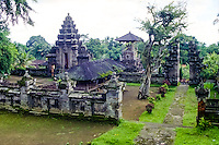 Bali, Bangli. Pura Kehen, an important temple from the 13th century.