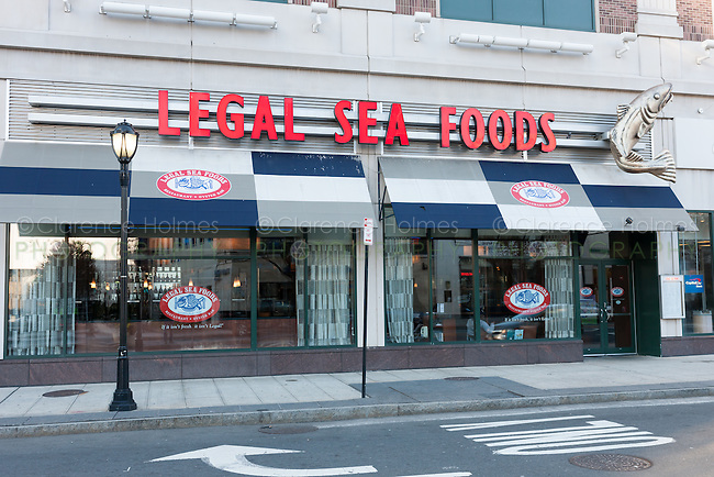 The Legal Sea Foods restaurant in White Plains, New York