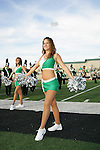 Denton, TX - OCTOBER 7: Dancers -  University of North Texas Mean Green football vs Florida International University Panthers at Fouts Field in Denton on October 7, 2006 in Denton, Texas. NT wins 25-22. Photo by Rick Yeatts