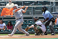 5 June 2010:  FIU's Sean Reilly (24) bats in the fourth inning as the Dartmouth Green Wave defeated the FIU Golden Panthers, 15-9, in Game 3 of the 2010 NCAA Coral Gables Regional at Alex Rodriguez Park in Coral Gables, Florida.