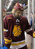 Keegan Flaherty (Duluth - 14) - The University of Minnesota-Duluth Bulldogs defeated the Union College Dutchmen 2-0 in their NCAA East Regional Semi-Final on Friday, March 25, 2011, at Webster Bank Arena at Harbor Yard in Bridgeport, Connecticut.
