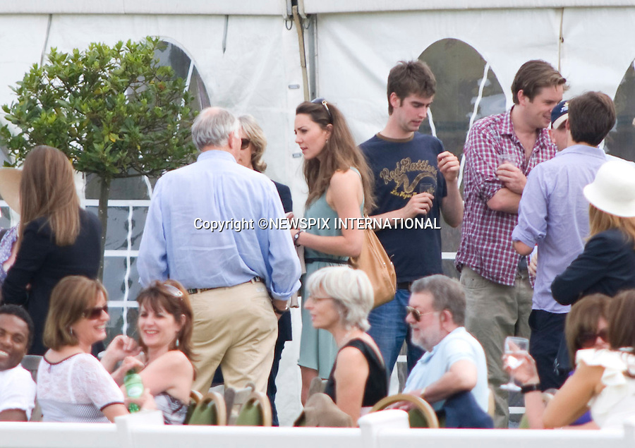 "KATE MIDDLETON.Kate Middleton looking very skinny as she watches boyfriend Prince William and Prince Harry play in the Chakravarty Cup at Beaufort Polo Club_Westonbirt_10/07/2010.Mandatory Photo Credit: ©Dias/Newspix International..**ALL FEES PAYABLE TO: ""NEWSPIX INTERNATIONAL""**..PHOTO CREDIT MANDATORY!!: NEWSPIX INTERNATIONAL(Failure to credit will incur a surcharge of 100% of reproduction fees)..IMMEDIATE CONFIRMATION OF USAGE REQUIRED:.Newspix International, 31 Chinnery Hill, Bishop's Stortford, ENGLAND CM23 3PS.Tel:+441279 324672  ; Fax: +441279656877.Mobile:  0777568 1153.e-mail: info@newspixinternational.co.uk"