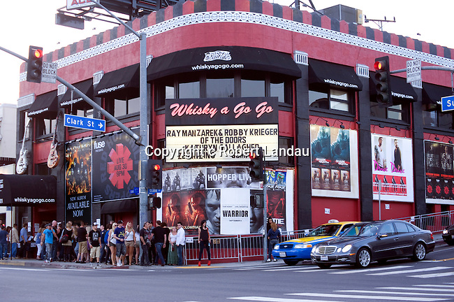 After 45 years members of the Doors return to play at the Whiskey A Go Go on the Sunset Strip in Los Angeles