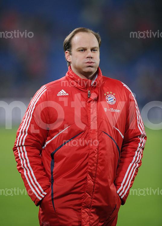 Fussball 1. Bundesliga :  Saison   2009/2010   Testspiel 12.01.2010 FC Basyel - FC Bayern Muenchen  FC Bayern Manager Christian Nerlinger