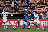 Seattle, WA - Sunday, September 24th, 2017: Rumi Utsugi during a regular season National Women's Soccer League (NWSL) match between the Seattle Reign FC and FC Kansas City at Memorial Stadium.
