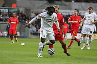 Pictured: Jason Scotland of Swansea City in action <br /> Re: Coca Cola Championship, Swansea City Football Club v Watford at the Liberty Stadium, Swansea, south Wales 09 November 2008.<br /> Picture by Dimitrios Legakis Photography (Athena Picture Agency), Swansea, 07815441513
