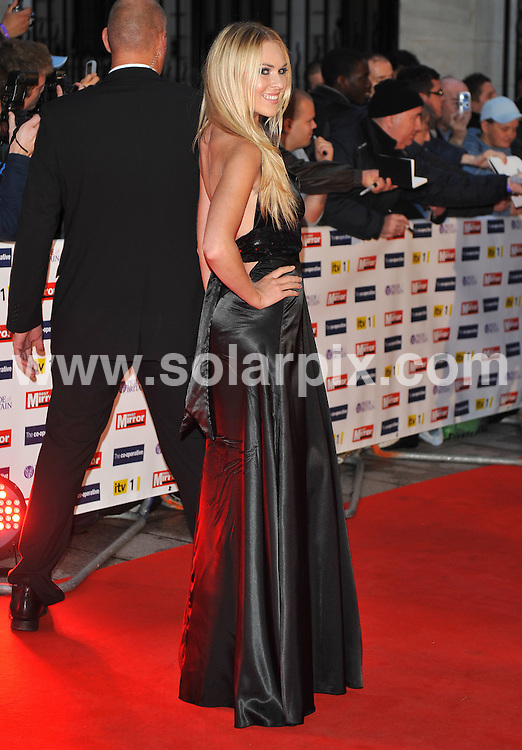 **ALL ROUND PICTURES FROM SOLARPIX.COM**.**WORLDWIDE SYNDICATION RIGHTS**.Red carpet arrivals at the Pride Of Britain Awards. Held at Grosvenor House, Mayfair, London, UK. 5 October 2009..This pic: Zoe Salmon..JOB REF: 10066 SSD     DATE: 05_10_2009.**MUST CREDIT SOLARPIX.COM OR DOUBLE FEE WILL BE CHARGED**.**MUST NOTIFY SOLARPIX OF ONLINE USAGE**.**CALL US ON: +34 952 811 768 or LOW RATE FROM UK 0844 617 7637**