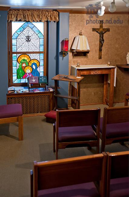 Apr. 22, 2012; Old College Chapel..Photo by Matt Cashore/University of Notre Dame
