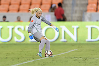 Houston, TX - Saturday July 22, 2017: Jane Campbell during a regular season National Women's Soccer League (NWSL) match between the Houston Dash and the Boston Breakers at BBVA Compass Stadium.