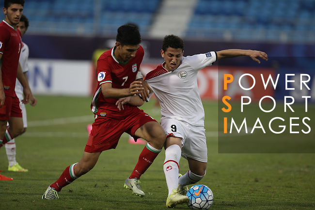 Yemen vs IR Iran during the 2016 AFC U-19 Championship Group C match at Khalifa Sports City Stadium on 20 October 2016, in Isa Town, Bahrain. Photo by Isa Ebrahim / Lagardere Sports