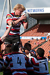 Jamie Chipman claims lineout ball. ITM Cup rugby game between Waikato and Counties Manukau, played at Waikato Stadium, Hamilton on Saturday 28th August 2010..Waikato won 39 - 3.