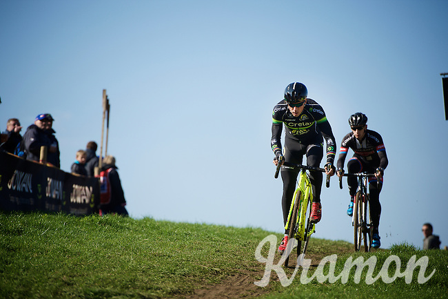 Sven Nys (BEL/Crelan-AAdrinks) during the course recon<br /> <br /> Elite Men's race<br /> bpost bank trofee<br /> GP Mario De Clercq Ronse 2015