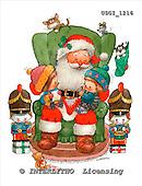 GIORDANO, CHRISTMAS SANTA, SNOWMAN, WEIHNACHTSMÄNNER, SCHNEEMÄNNER, PAPÁ NOEL, MUÑECOS DE NIEVE, paintings+++++,USGI1216,#X# stickers
