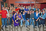 Birthday Boy - Edward Fitzgerald from Kilmoyley seated 2nd from left, pictured having a ball with family and friends at his 21st birthday bash held in McElligot's Bar, Ardfert on Saturday night................................................................................................................................... ............