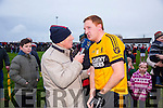 at the Brosna V Listowel Emmets North Kerry Senior Championship final replay at  Bob Stack Park, Ballybunion on Saturday