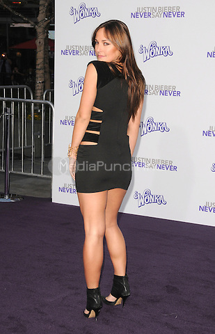 "Briana Evigan at the Los Angeles premiere of ""Justin Bieber: Never Say Never""  at Nokia Theater at L.A. Live in Los Angeles, CA, USA.February 8, 2011 © mpi11 / MediaPunch Inc."